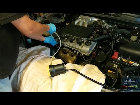 Engine Oil Change With A 12V Electric Extractor Pump. Tricks And Tips. Camry