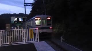 【発車】みなみ寄居駅を東武8000系寄居行きが発車