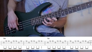 '(Anesthesia) Pulling Teeth' bass lesson (how to play FIRST SECTION) + bass tab