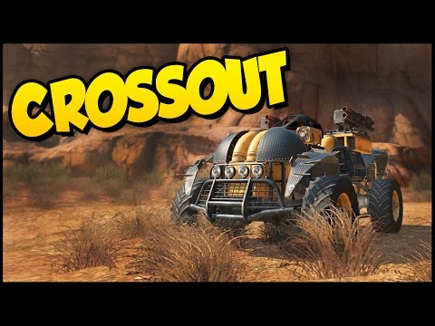 Crossout ➤  Awesome Dual Wasp Buggy! [Crossout Gameplay]