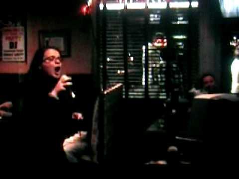 Elisa al karaoke(New Jersey)