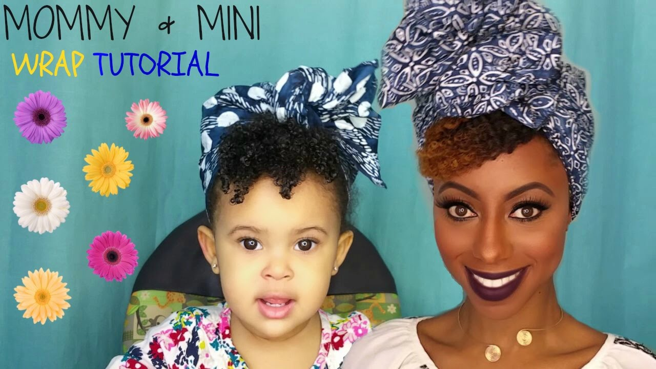 How To Wrap A Turban On Natural Hair Youtube