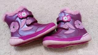 Обзор: Tom. M - детские зимние ботинки, натуральная кожа и мех