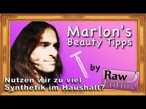 Rasieren! Ganz natürlich und ohne synthetische Stoffe! ???? MARLON'S Beauty Tipps!