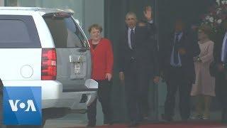 Obama and Merkel Meet in Berlin