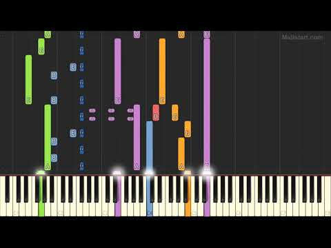 Kill Bill - About Her (Instrumental Tutorial) [Synthesia]