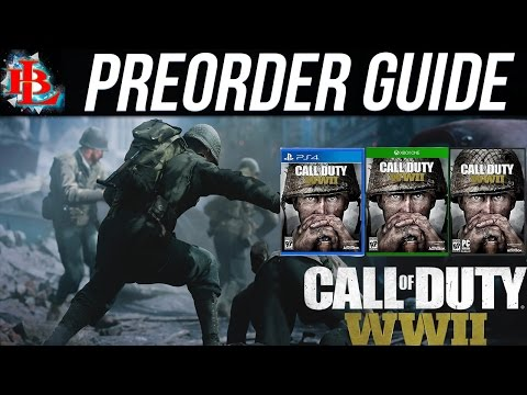 CALL OF DUTY: WWII PREORDER GUIDE | What you need to know