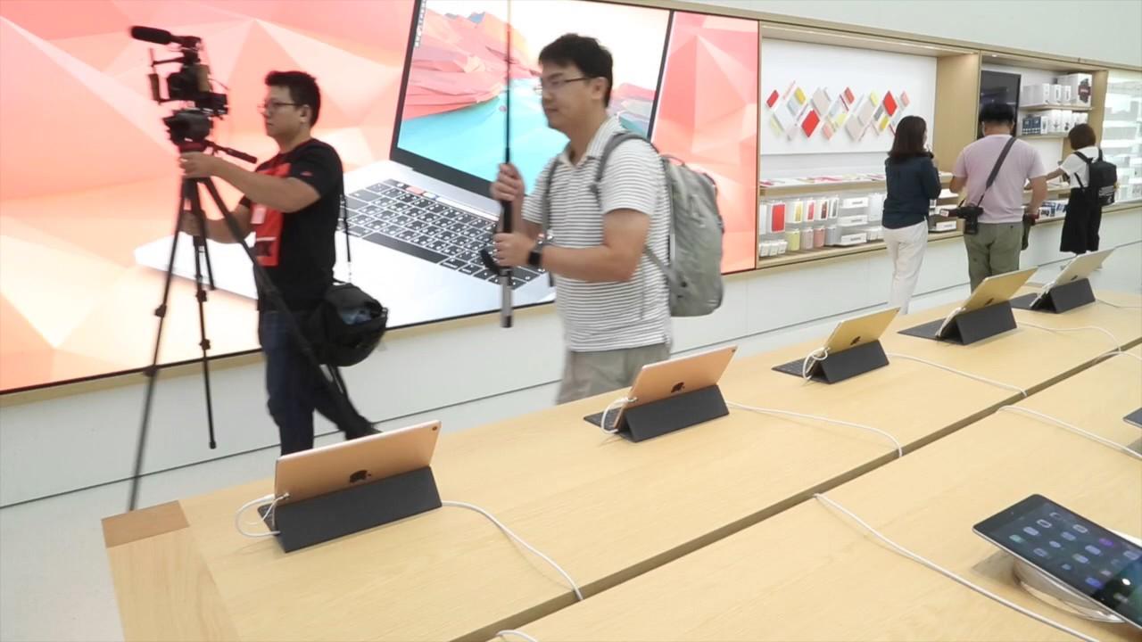 Apple直營店落腳101 - YouTube