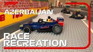The 2021 Lego Formula 1 Azerbaijan Grand Prix