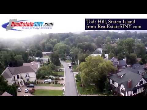 From Above: Todt Hill, Staten Island