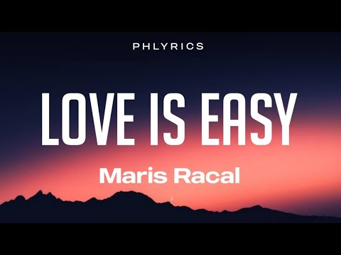 Maris Racal   Love Is Easy   Lyrics