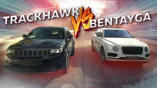 TrackHawk VS Bentayga. BMW M850, Байкал, 200 км/ч в дрифте.