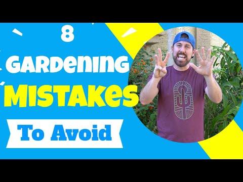 8 Gardening Mistakes To Avoid