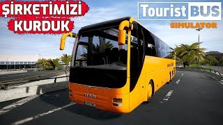 TOURIST BUS SIMULATOR // BU OTOBÜS OYUNU AKAR !! #1
