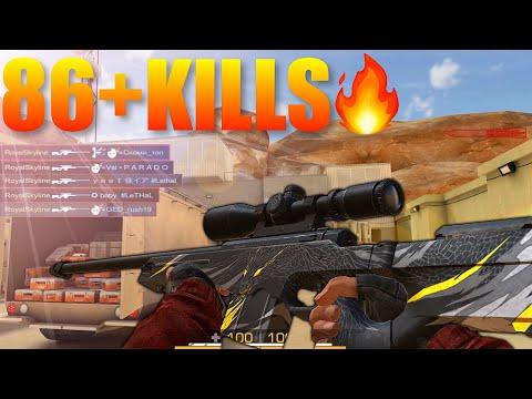 Standoff 2 Interception Insane Pro Sniper Gameplay 86+ KILLS‼️