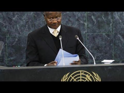 Museveni accuses U.N. of 'preserving terrorism' in eastern Congo