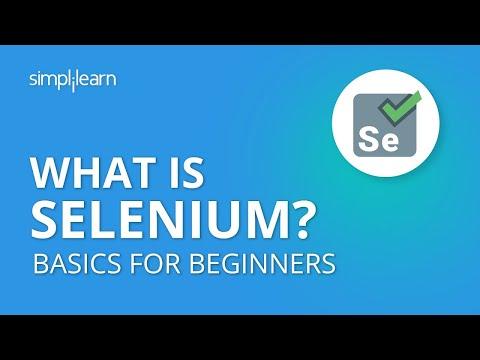 What Is Selenium? | Selenium Basics For Beginners | Introduction To Selenium | Selenium |Simplilearn