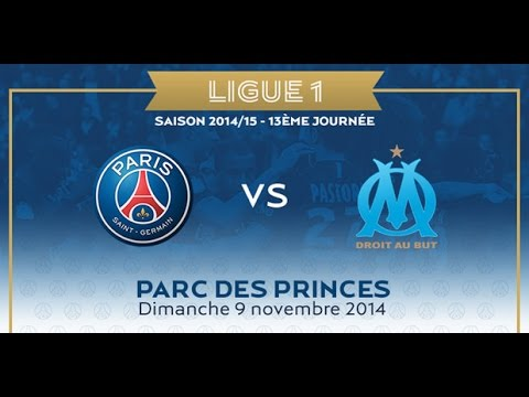 Paris SG - Olympique de Marseille [FIFA 15] | Ligue 1 2014-2015 (13ème Journée) | CPU Vs. CPU