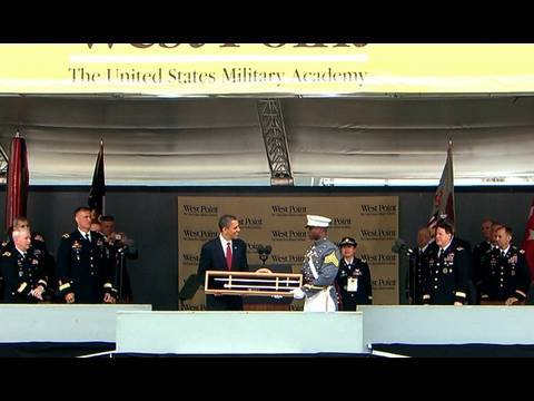 President Obama Delivers Commencement at West Point