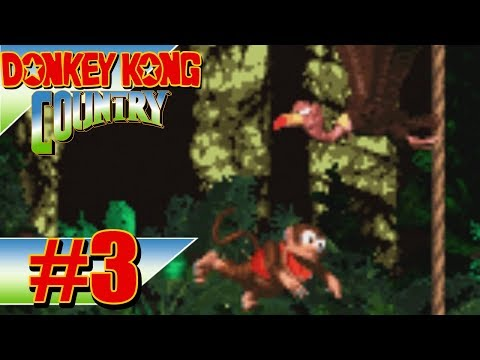 """Donkey Kong Country [Blind] #3 - """"Bird Barrage"""""""