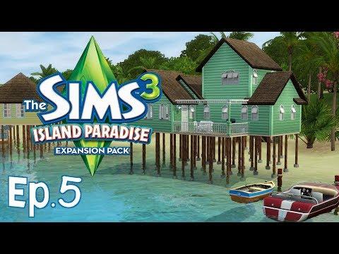 The Sims 3 - Casetta in riva al mare - Ep.5 - Isola da Sogno - [Gameplay ITA]