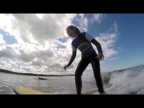 Happy days at Constantine Bay Surf School