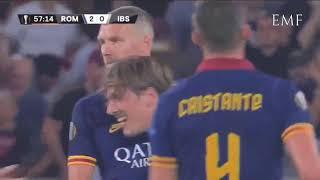 Roma 4-0 Istanbul Basaksehir - Highlights commento Sky, TV8, Roma Radio, Radio Rai Video