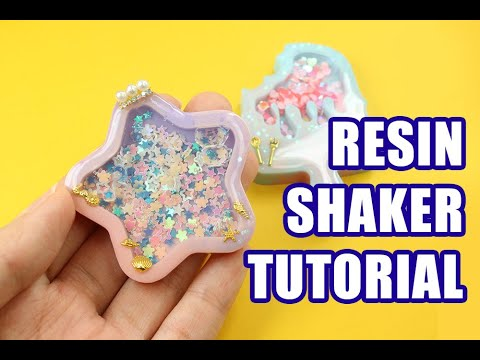 Resin Shaker Tutorial 滴胶流沙制作教学