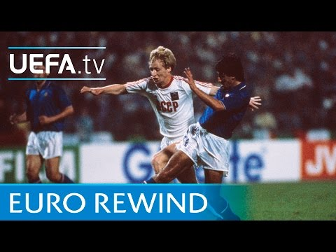 EURO 1988 Highlights: Italy 0-2 USSR