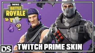 Fortnite Battle Royale Deutsch - Twitch Prime SKIN + das verrückte Squad (Fortnite Gameplay German)