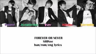 Forever or Never- SHINee Color Coded Lyrics