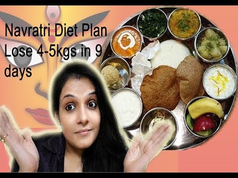 Navratri special diet plan weight loss lose kg kg in days fitnessbeautymantra also rh youtube