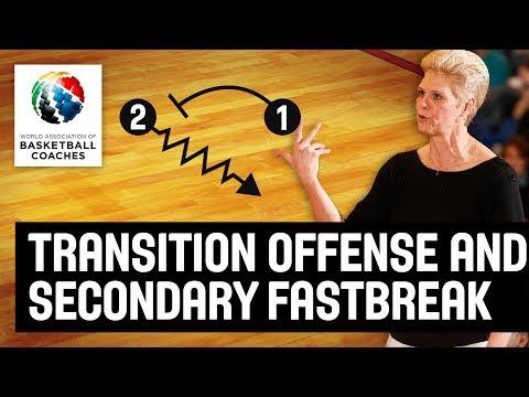 Transition Offense and Secondary Fastbreak - Jill Schneider - Basketball Fundamentals