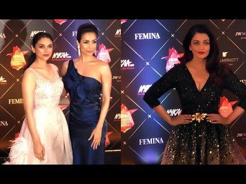 Uncut: Nykaa Femina Beauty Awards 2018   Aishwarya Rai, Disha Patani,Rekha, Zareen Khan