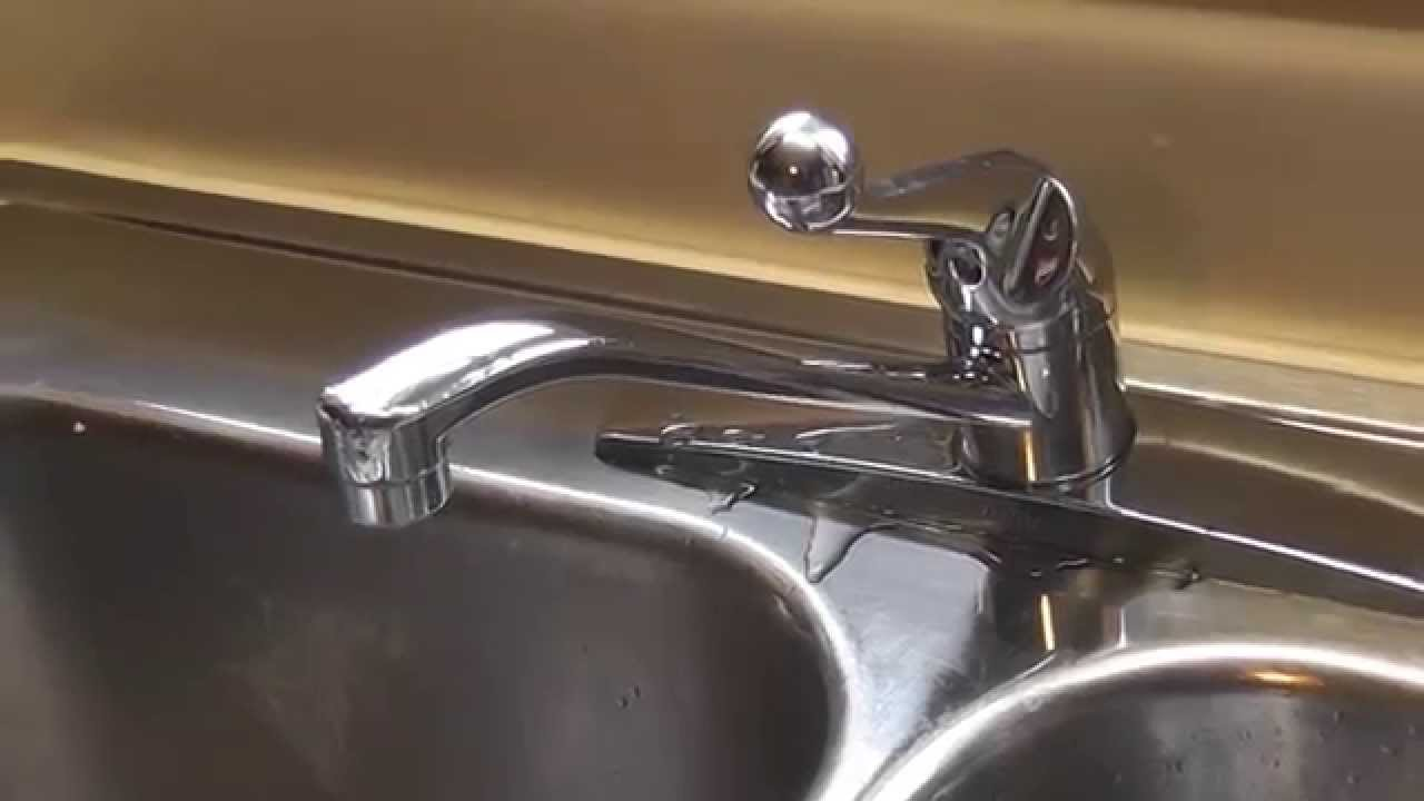 Dripping Delta Faucet Repair Using Kit - DIY - YouTube
