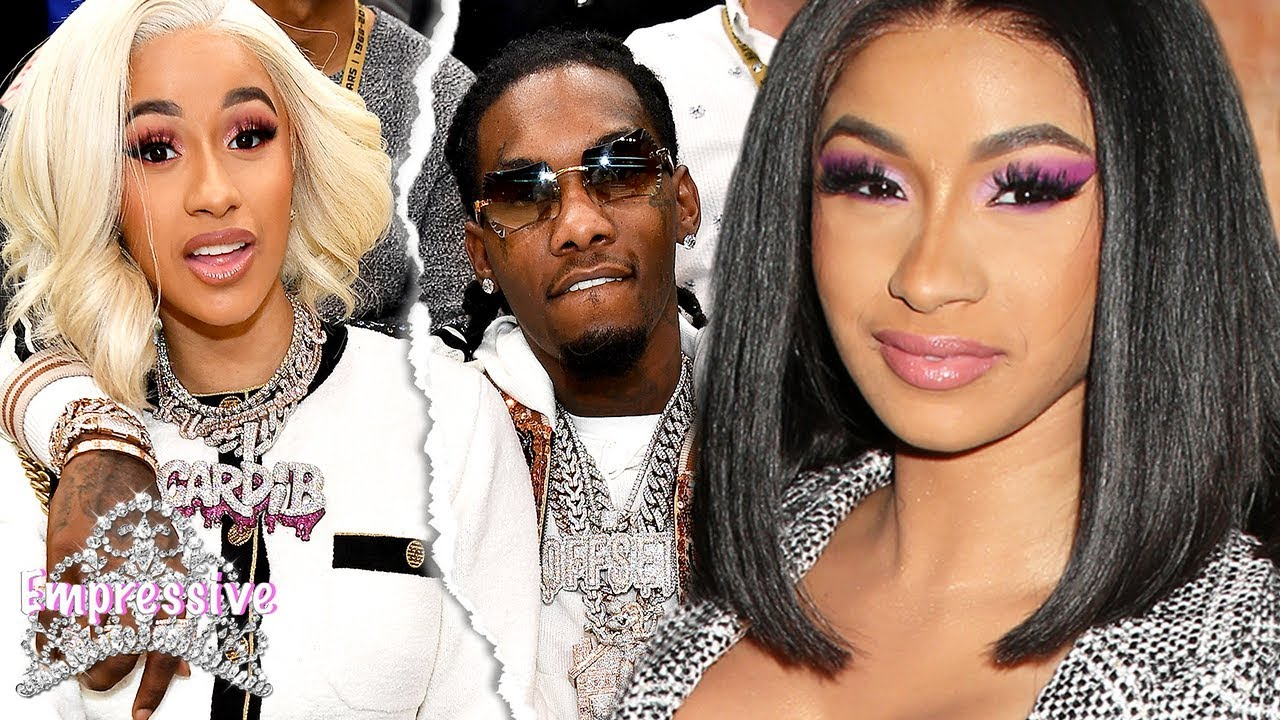 Cardi B breaks up with her husband Offset! (Is this real or a PR stunt?)