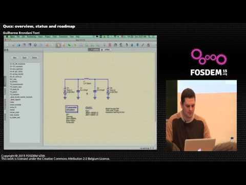 FOSDEM 2015 - Developer Room - Electronic Design Automation - Qucs Overview