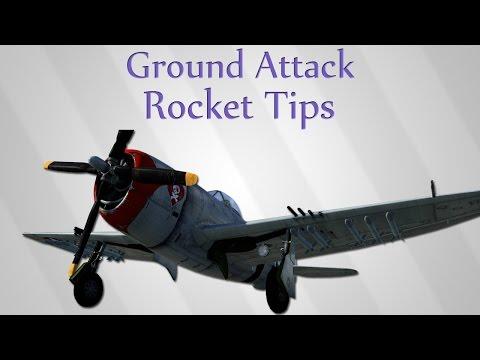   Ground Attack - Rocket Tips   War Thunder Simulator Battles  