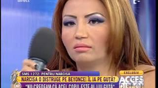 Narcisa Nu credeam ca Nicolae Guta este tatal copilului lui Beyonce de Romania