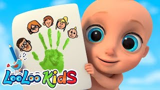 The Finger Family - Nursery Rhymes and Children`s Songs | LooLoo KIDS