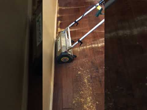 Hardwood Floor Cleaning - Low Moisture Compound