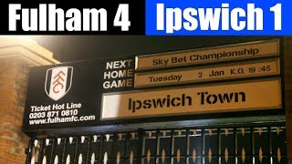 Fulham 4 Ipswich Town 1 | Ipswich blown away by Fulham FC  | Fulham football club