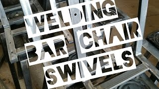 Welding Bar Chair Swivels