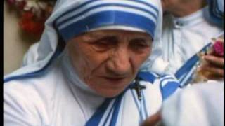 Great life of Mother Theresa It walked with Jesus Christ Hymn / Bea...