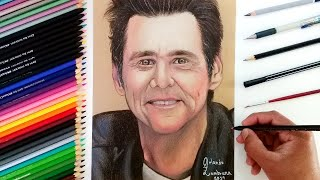 Dibujo en papel CRAFT de Jim Carrey