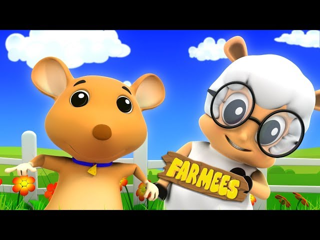 Georgie Porgie Pudding and Pie | Kids Cartoon & Rhymes by Farmees | Fun Learning for Children