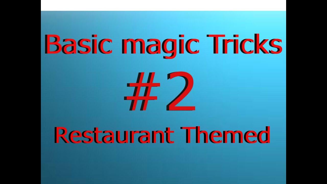 basic magic tricks