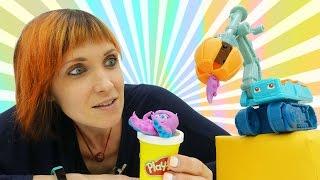 Веселая Школа. Видео для детей. Игровой городок Play Doh.