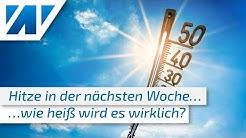 Hitzewelle kommt! Wie warm wird es? Kratzen wir echt an der 40°C-Marke? Wie lange bleibt es heiß?