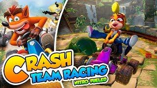 ¡Desafiante y adictivo! - Crash Team Racing Nitro-Fueled (PS4 Pro) DSimphony